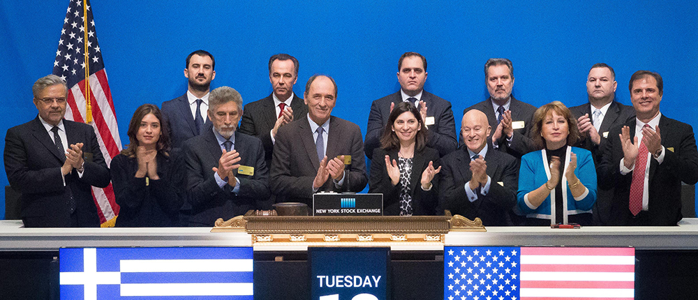 GREEK DAY - NEW YORK STOCK EXCHANGE