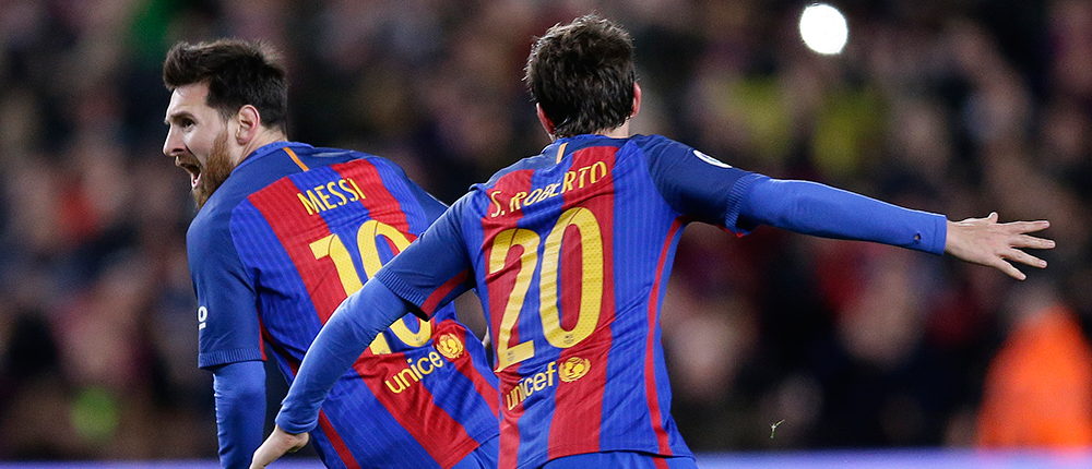 AP - Barcelona - Athletic Bilbao - Messi