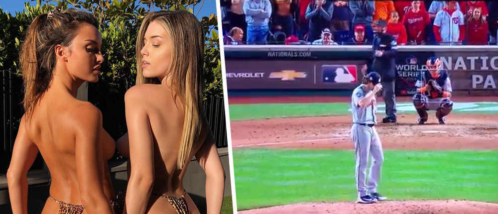 Washington Nationals- Houston Astros - Julia Rose - Lauren Summer - μοντέλα - γυμνά