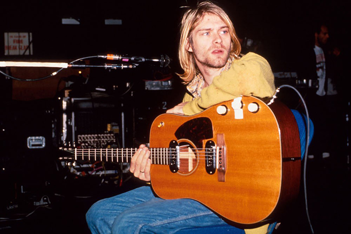 kurt cobain - unplugged - κιθάρα